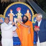 Sahebji with Baba Ramdevji