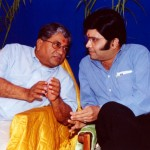 Sahebji with Devangbhai